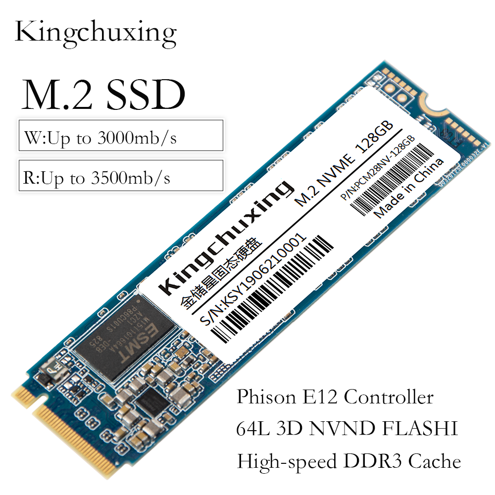 cheapest M2 SSD M 2 NVME PCIe x 4 Interface 1TB 1T 512GB 256GB 128GB Internal Solid State Drive Hard Disk HDD Laptop Notebook Kingchuxing