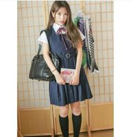 School Uniforms Short Or Long Sleeve Shirt and Vest Dress High Quality Japanese Preppy Style Girls Uniform Anime Costumes S XL