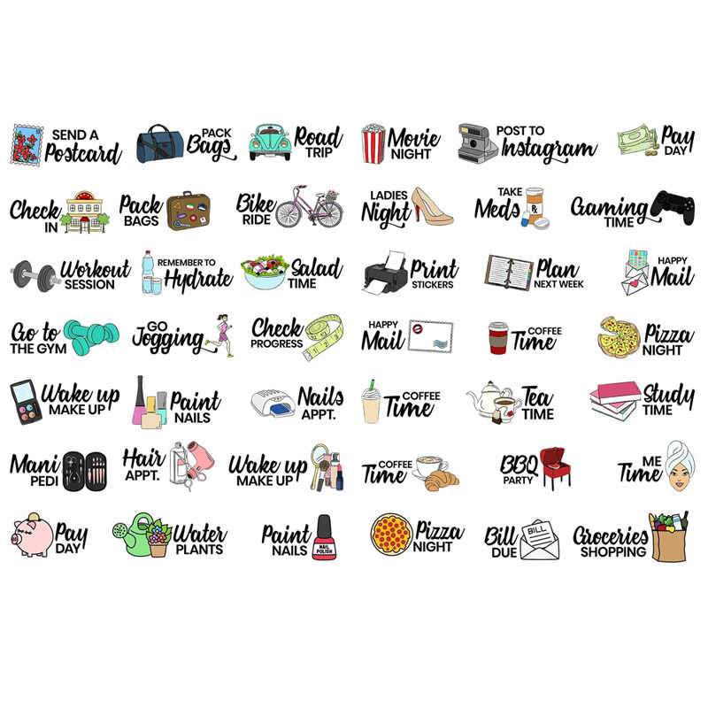 This is a picture of Aesthetic Printable Stickers pertaining to 60's