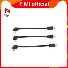 FIMI X8 MINI Camera Drone cavo USB originale drone pezzi di ricambio fimi x8 mini camera drone tipo c usb microusb line drop shipping
