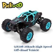 GS166 RC автомобиль 1:14 4WD 2,4 Ghz сплав 36 км/ч скалолазание Дистанционное управление автомобиль внедорожный гусеничный автомобиль модель RTR игрушк...