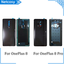 For OnePlus Battery Housing Cover For OnePlus 8 8Pro Housing Back Door Cover For OnePlus 1+ 8 8Pro Back Cover Part
