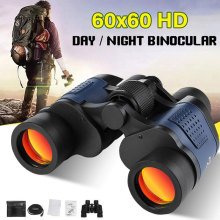Telescope 60X60 HD Binocular High Clarity 10000M High Power For Outdoor Hunting Travel Optical Night Vision Binocular Fixed Zoom wildgameplus wg500b 1080p hd night vision binoculars optical 10 8x31 zoom digital night vision binocular hunting telescope night
