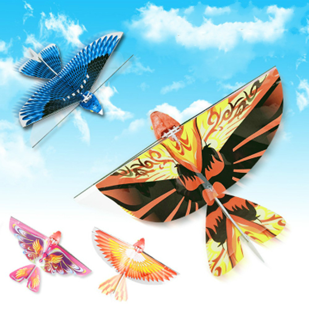 Electric Bird  Electric Flying Eagle Rotation RC Swallow Flying Bird  Electric Ornaments Kids Toy Realistic Display Simulated