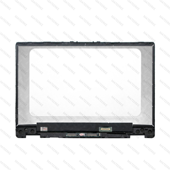For HP Pavilion x360 14-dh0017ni  14-dh0010TX 14-dh0011TX 14-Dh0009nf LED LCD Display Touch Digitizer Screen Assembly + Bezel