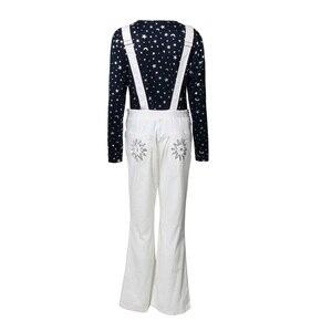 Image 2 - Rocketman disfraz de Halloween de Elton John para adultos, traje de carnaval, pantalones con pechera, Disfraces de Halloween, talla XS XXXL