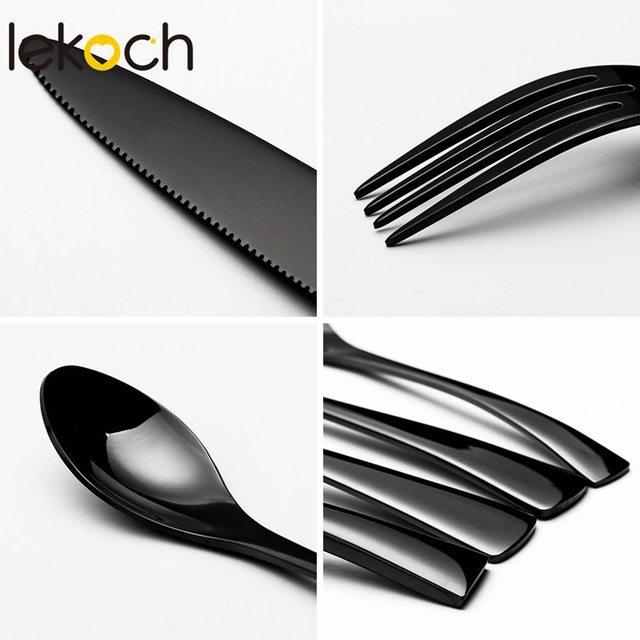 4PCS/Set Stainless Steel Cutlery Dinnerware Set