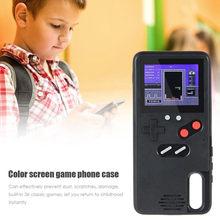 Gameboy Case Voor Huawei P40 P20 P30 Mate 20 30 Pro Kleur Scherm Klassieke Spel Tetris Console Case Voor Huawei nova5 Honor 9X Cover