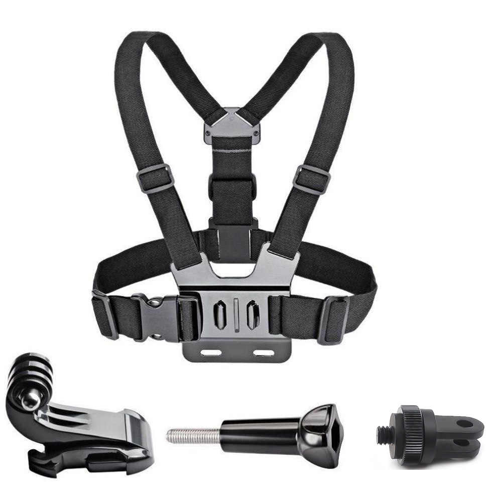 for insta360 one X Accessories Adjustable Chest Strap Belt Body Tripod Harness Mount For insta360 evo sports Camera