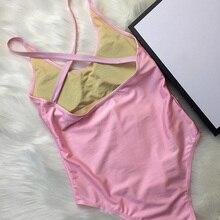Backless Swimwear Bathing-Suit Women Luxury Bodysuits Monokini Push-Up High-Cut Sexy