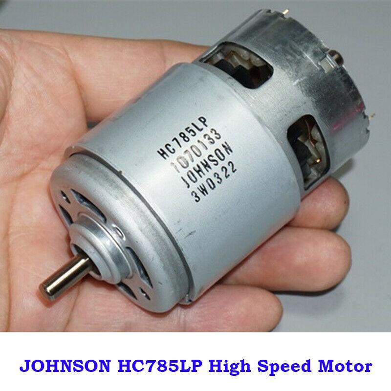 DC 6V~20V 12V 18V 20500RPM High Speed Large Torque RS-550 Electric Drill Motor