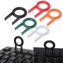 2pcs Plastic Mechanical Keyboard Keycap Puller Remover Easy To Pull Out For Keyboards Key Cap Fixing Tools