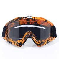 Moto casco cruzado gafas moto cross dirt bike moto rcycle cascos gafas esquí patinaje gafas