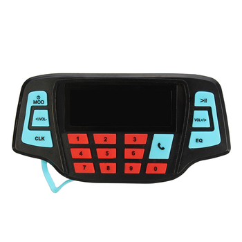 Hot Muti-functional Motorcycle Speaker Handlebar Audio System BT USB FM Radio MP3 Speaker Motorcycle Accessories