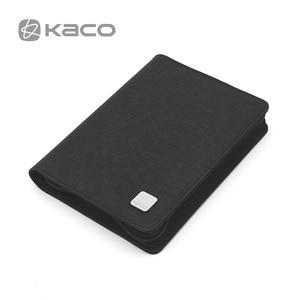 Image 5 - KACO długopis piórnik torba dostępne na 10 pióro wieczne/pióro kulkowe pojemnik do przechowywania torba do przechowywania czarna wodoodporna