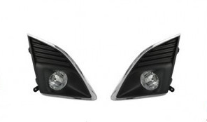 Qirun  fog lamp assembly lights+covers+wires+switch for Chevrolet Cruze 2013-ON