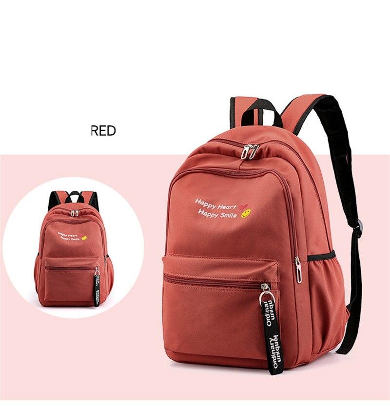 grande high school sacos de viagem duráveis mochilas escolar