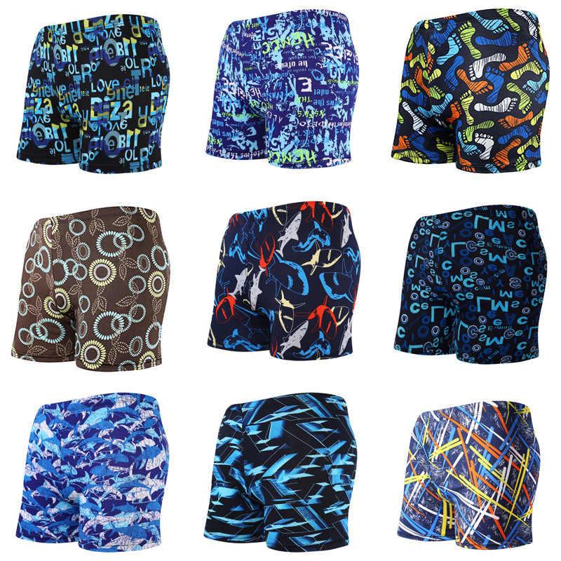 Nuovi Uomini di Stile traspirante Tronchi di Nuoto Costume Da Bagno-Stile Stampato Adulto Plus-dimensioni Boxer degli uomini spiaggia shorts