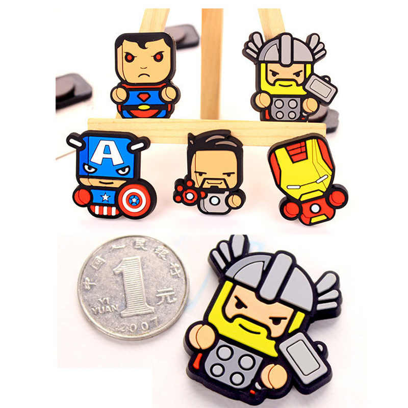 1 Pcs Marvel Avenger Kartun Gambar Magnet Kulkas Souvenir Ikon Stiker Magnet Kulkas Hadiah Natal Dekorasi Rumah Hadiah Anak