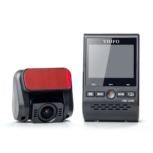 Image 2 - VIOFO Cámara de salpicadero Dual A129 Pro Duo 4K, DVR 2020, 4k, modo de estacionamiento GPS, sensor Sony, WIFI, 4K, DVR