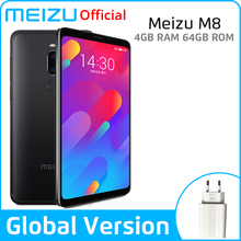 "Meizu M8 4GB 64GB Global Version V8 SmartPhone Helio P22 Octa Core 5.7"" Screen Dual Rear Camera 3100mAh Fingerprint"