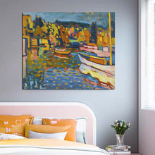 Nordic Modern River Abstract Oil Picture Fashion Style Canvas Painting Art Print Poster Picture Wall Living Room Home Decor nordic art elephant walking moment abstract fashion style canvas painting art print poster picture wall living room home decor