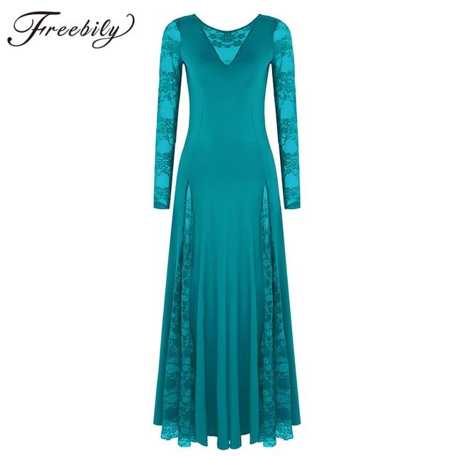 Sexy koronki do tańca towarzyskiego sukienka do tańca dla kobiet długie rękawy waltz tango sukienki do tańca standardowa sukienka do tańca towarzyskiego czarny/czerwony/niebieski/ proszę kliknąć na zielony