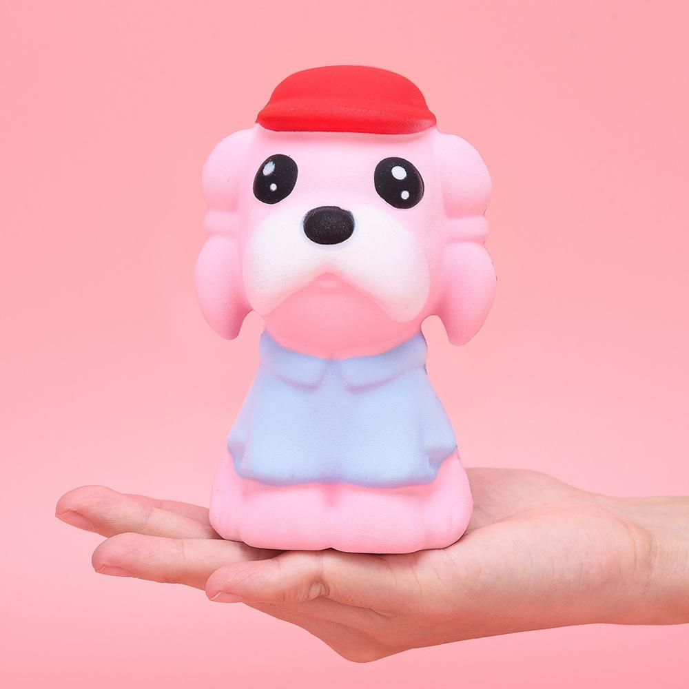 Adorable Kawaii Dog Squishy Slow Rising Cream Scented Stress Relief Antistress Toys Kids Adult Toy Stress Reliever Decor
