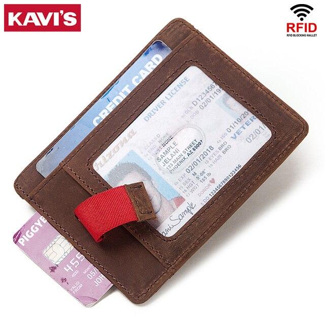 2020 100% véritable cuir de vache crédit porte-carte voyage hommes mâle mince étui portefeuille affaires fermeture éclair mince porte-monnaie pour ID Mini