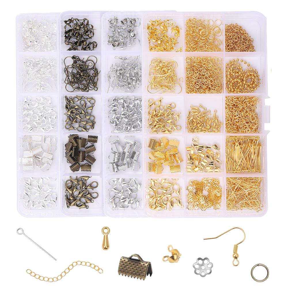 Alloy Accessories Jewelry Findings Tools Clip Buckle Open Jump Rings L
