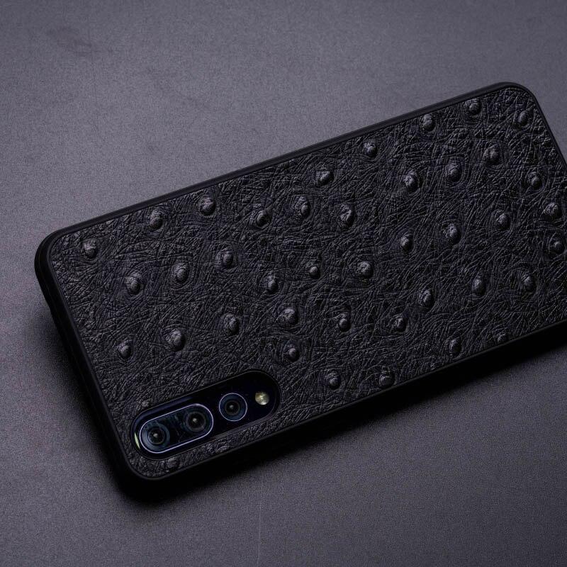 Ostrich Skin Phone Case For Huawei P10 P20 Mate 20 10 9 Pro Lite case Soft TPU Edge Cover For Honor 8X Max 9 10 Nova 3 3i lite - 3