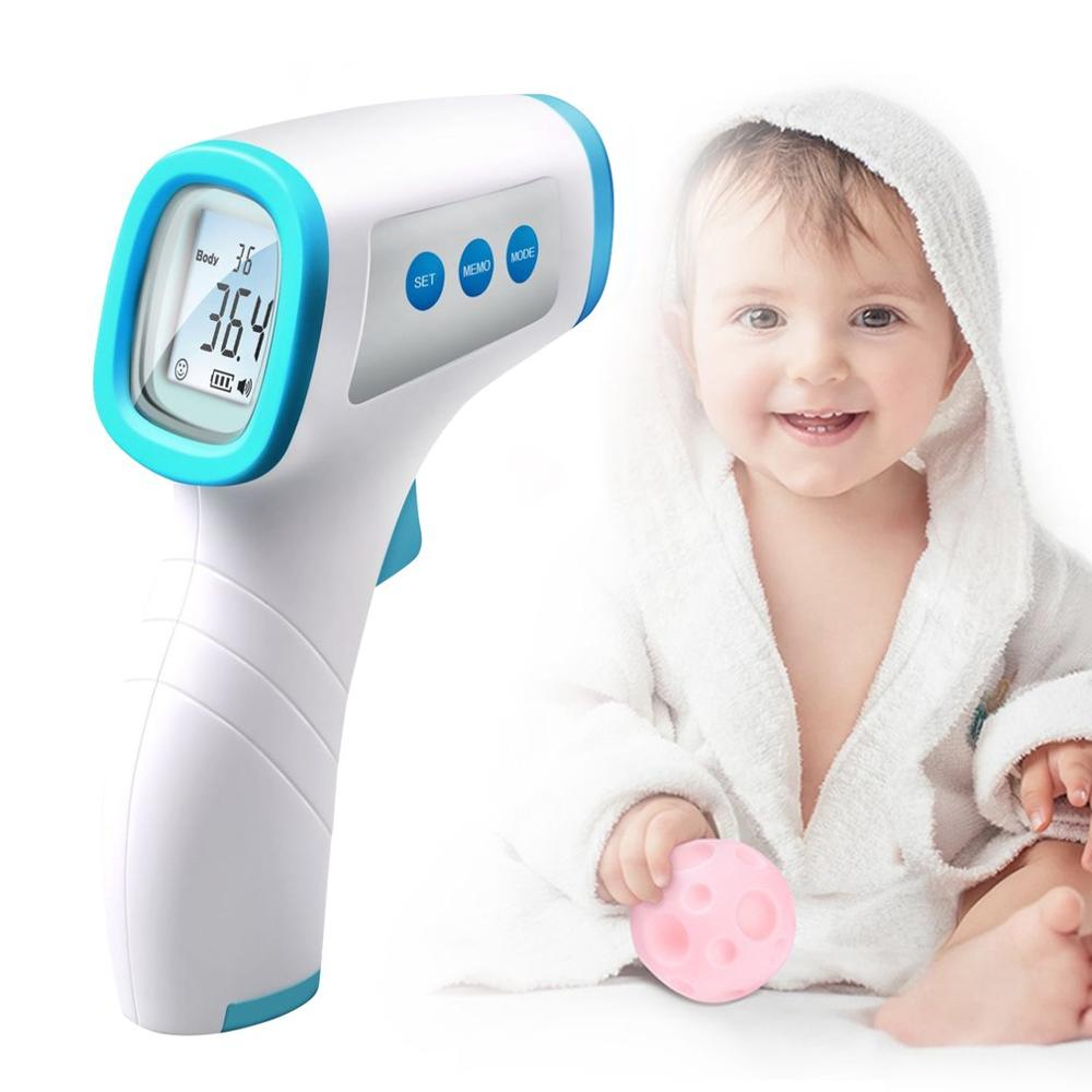 Non-contact <font><b>IR</b></font> Infrared Thermometer Digital Infrared Thermometer Temperature <font><b>Tester</b></font> Mini Infrared Thermometer Hot Sale image