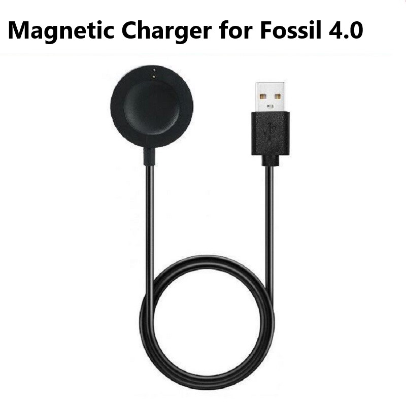 Magnetic Smart Watch Charger for Fossil 4 Charger Cradle Stand for Fossil Sport Diesel Watch 2018/Gen 4 Venture Skagen Falster 2