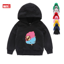 Kids Hoodies Sweatshirts Dog Printed Tops for Boys Girls Pullover Enjoy Pugs Hip Hop Basic Coat 2019 Winter