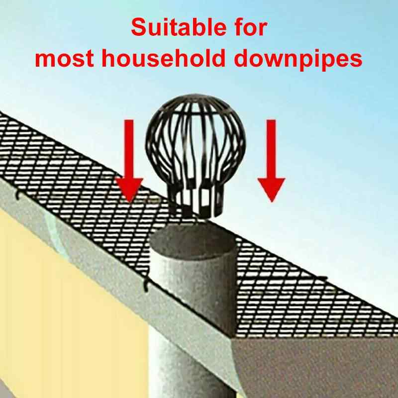 Flexible Downpipe Filter Plastic Roof Gutter Balloon Guard Filters Suitable For Most Household Downpipes Garden Protective Cover Drains Aliexpress