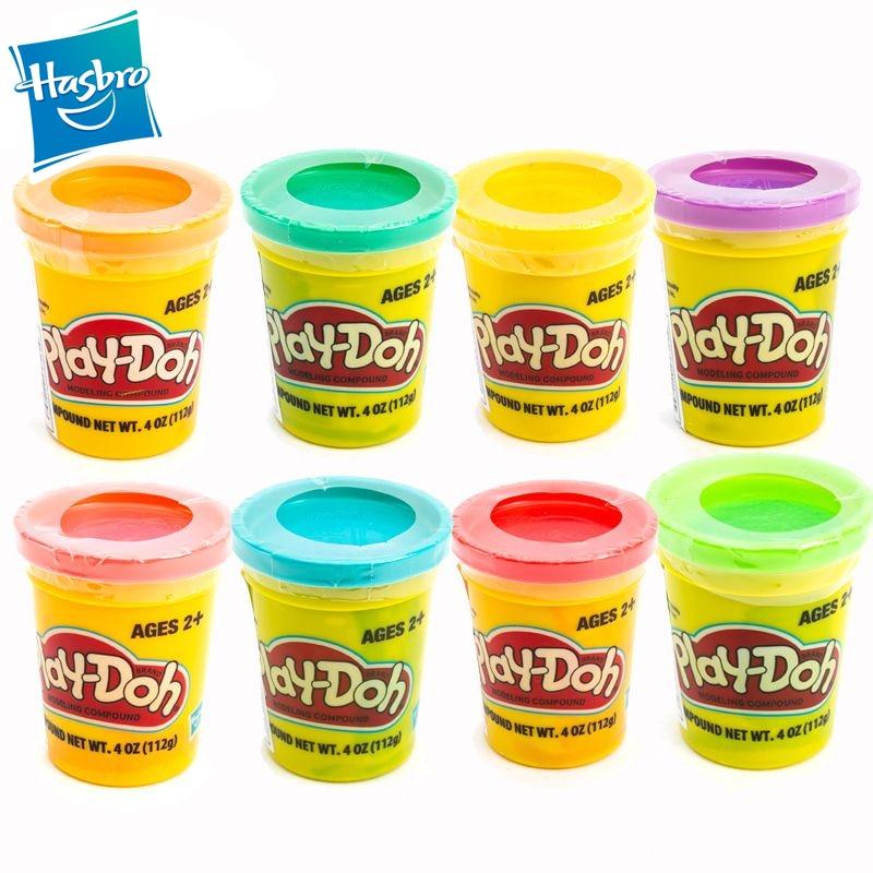 Hasbro Play Doh Toy DIY Plasticine Clay Play Dough Color Mud Educational DIY House Play Children Toys