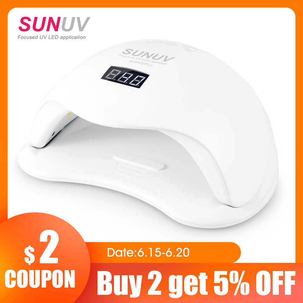 Sunuv Sun5 Plus 48w Uv Led Lamp Nail Dryer For Curing All Types