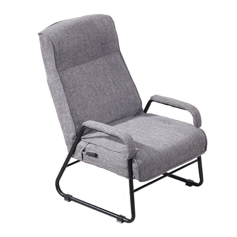 Lazy Chair Folding Single Sofa Bedroom Spring Lunch Break  Home  Couch Recliner Simple Leisure