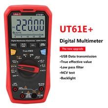 UNI-T UT61E+ 1000V True RMS Digital Multimeter Auto Range Voltage Current Capacitance Meter Professional Electric Tester