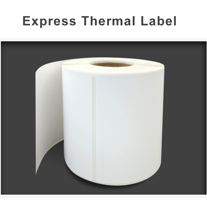 Thermal Printing Paper Sticker Rolls Printer Paper Rolls For Express Package Sticker 10*10cm/10*15cm(6 Rolls)