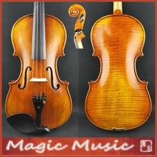 Европейская деревянная! Копия Антония Страда Виотти 1709 мастер скрипки Размер 4/4#2206, с черным продолговатым чехол для скрипки