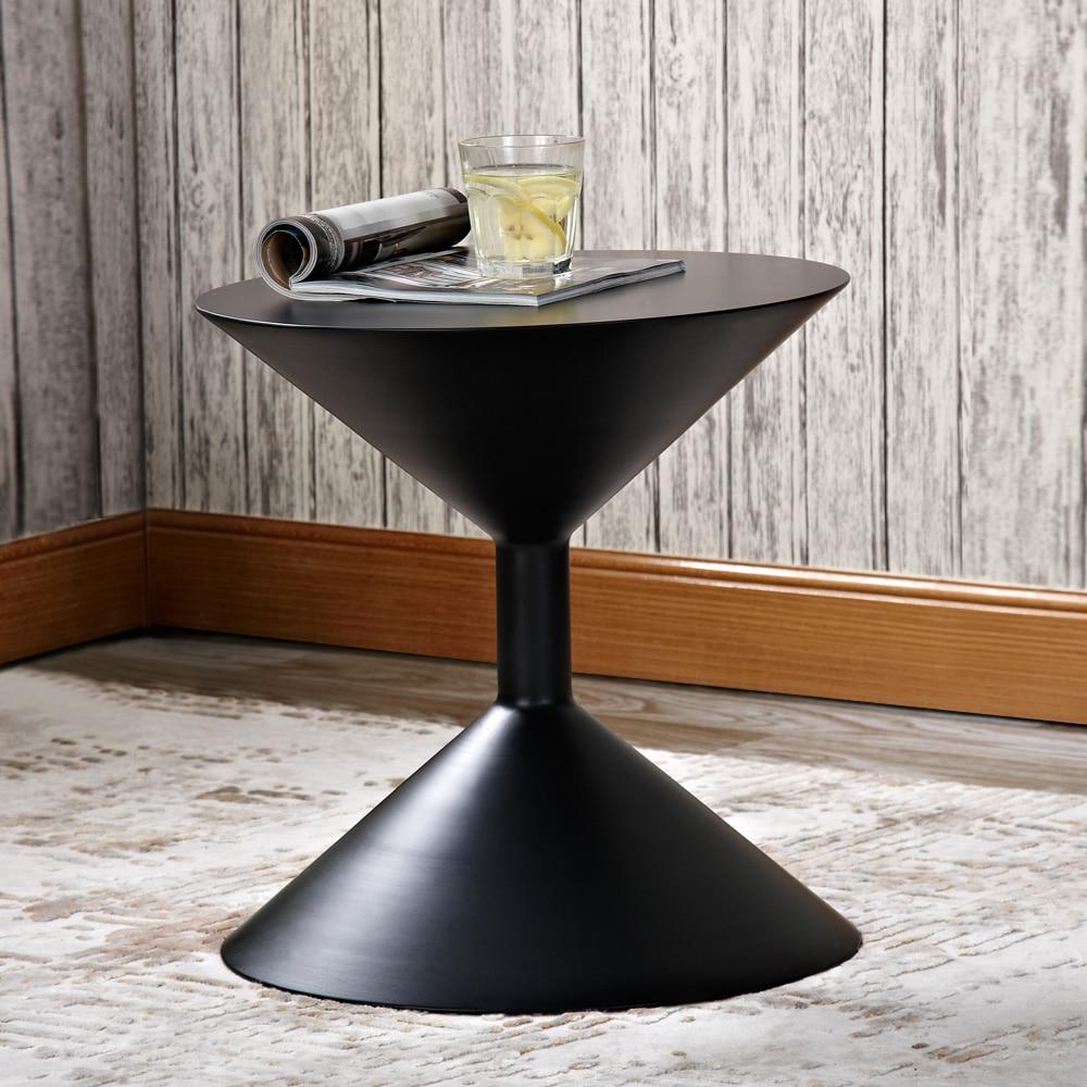 Домашний маленький металлический журнальный столик для гостиной, журнальный столик для отдыха