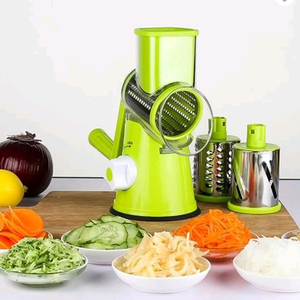3 Stainless Steel Easy To Clean And Operate Blades Slicer Potato Carrot Vegetable Cutter Chopper Grater Slicer Kitchen Supplies