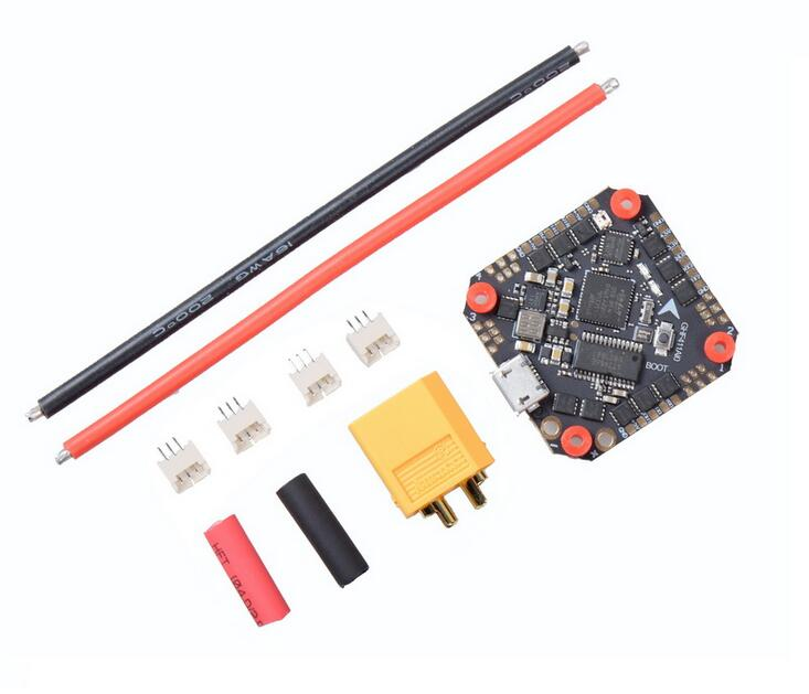 <font><b>JMT</b></font> GHF411AIO F4 Flight Controller AIO Betaflight OSD 2-4S BLHELI_S 20A / <font><b>30A</b></font> <font><b>ESC</b></font> Brushless for 3-5'' Mini RC квадрокоптер Drone image