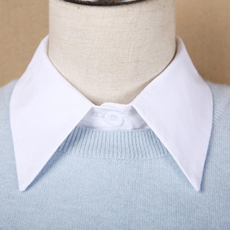 Fashion Neckwear Clothing Accessories Women Detachable Lapel Shirt Fake Collar False Blouse Rk
