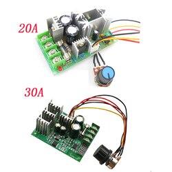 DC10-60V dc motor speed regulator 12v 24v 36v 48v high power drive module motor speed controller pwm current regulator 20a