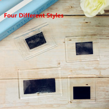 Blank Clear Acrylic Fridge Magnets Frame;4 different size available, Quality Premiun Photo Frame