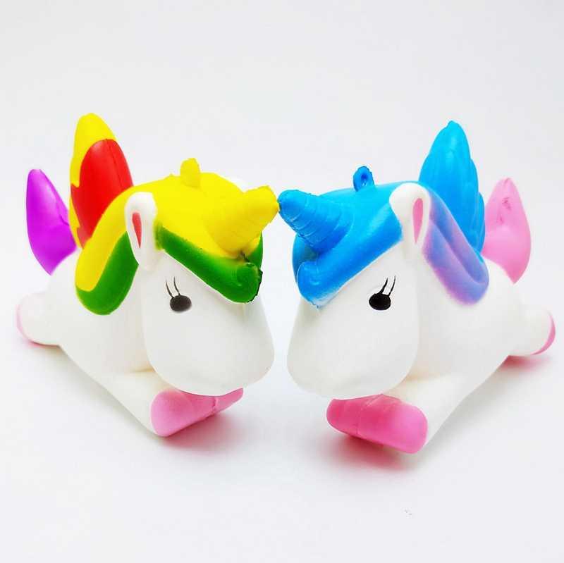 Antistress Giocattoli Per Bambini Squishy Unicorno Lento Aumento Stress Relief Spremere Giocattolo Divertente Squishy Kawaii Unicorni Giocattoli Per I Regali Dei Bambini