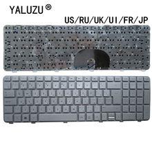 Clavier dordinateur portable US/RU/UK/UI/FR/JP pour HP pavillon DV6 6000 DV6 6100 634139 001 633890 001 640436 001 640436 071 640436 161