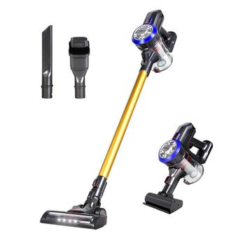 Dibea 12000pa Handheld Stick Lightweight Portable with LED Brush for Car Hard Floor Carpet Pet Hair Cordless Vacuum Cleaners